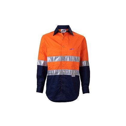 Women's Endurtie Orange/Navy Workwear Hi-Vis