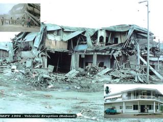 Rabaul Eruption
