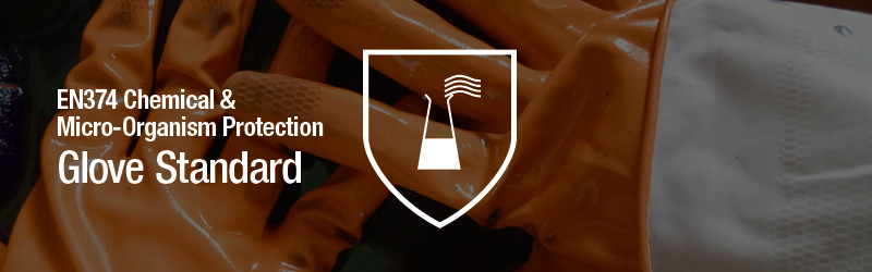 EN374 Chemical & Micro-Organism Protection