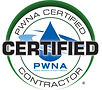 PWNA Certified Contractor logo