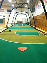 indoor batting cages turf