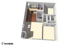 Floor Plan of #745