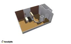 Efficiency Apt. Floor Plan