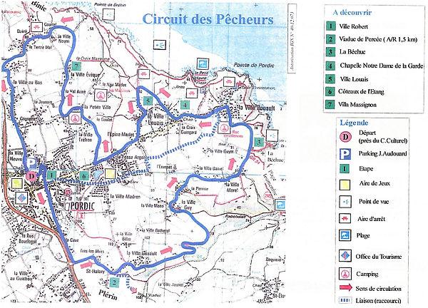 carte circuit des pêcheurs