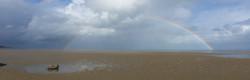 face au Vau Madec à marée basse