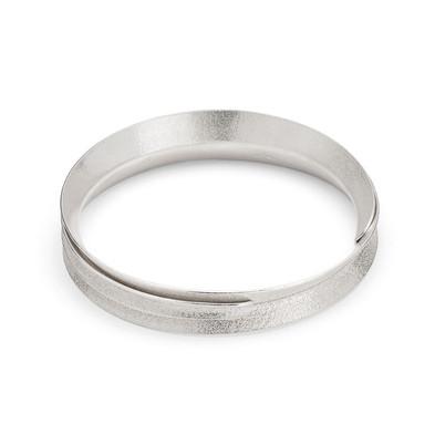 Curl Bangle Wrap Silver
