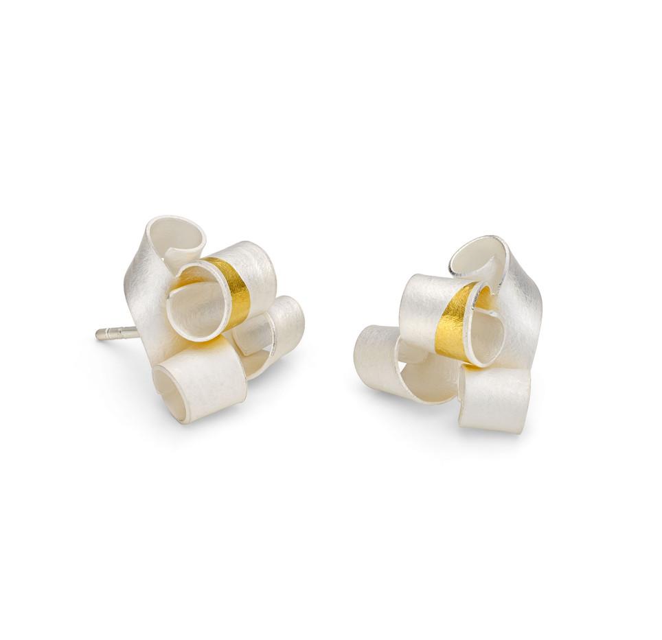 Fanfare Earrings Mini Stud