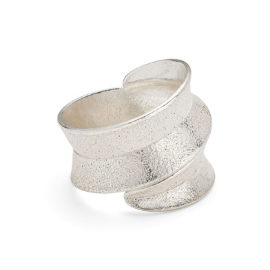 Curl Ring Wrap Silver