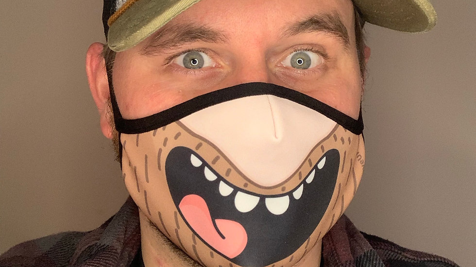 The Official Smiley Dave Face Mask
