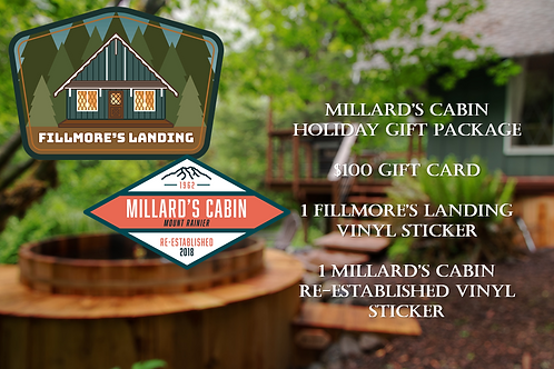 Fillmore's Landing $100 Holiday Gift Package