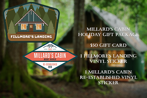 Fillmore's Landing $50 Holiday Gift Package