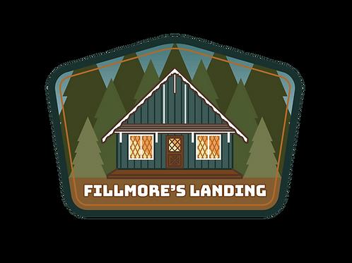 Fillmore's Cabin Vinyl Sticker