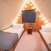 The not as often featured otherside of the loft gives extra bed space that is much needed for your adventure group!