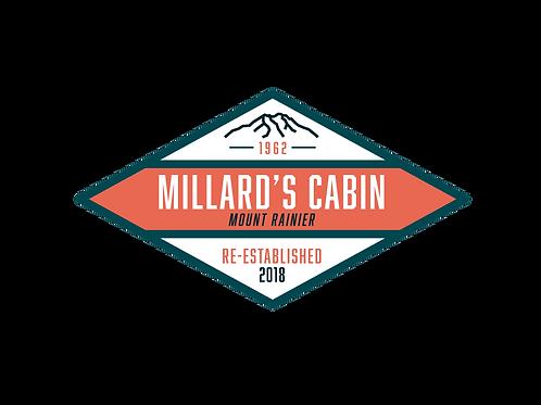 Millard's Cabin Re-established 2018