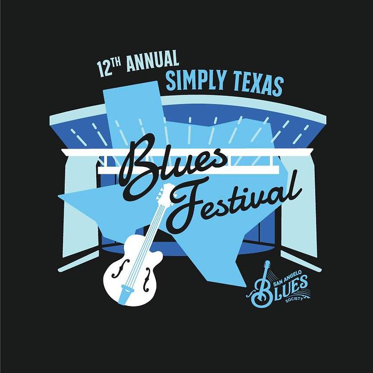 12th Annual Simply Texas Blues Festival 2021