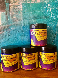 Bergamot & Turmeric Healing Butter
