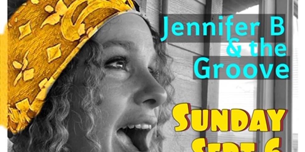 Jennifer B & the Groove at Lago Vista Farmer's Market THIS SUNDAY!
