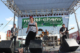 Simply Texas Blues Festival, Mr. Harrison Brown, Jennifer B, Parker T