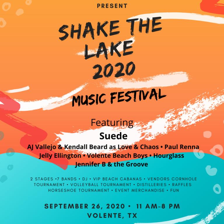 SHAKE THE LAKE MUSIC FESTIVAL