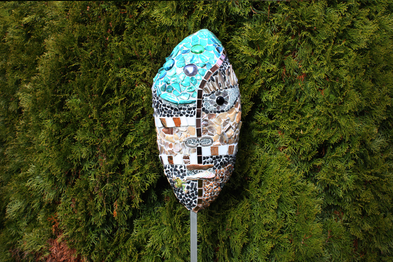 Garten-deko, Maske