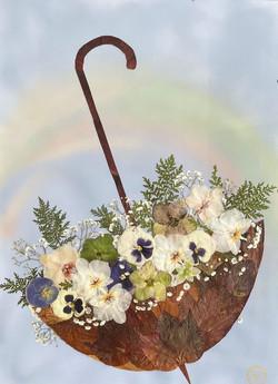Blumenschirm