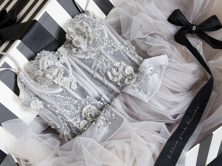 Four Ways To Play With Gray On Your Wedding Day