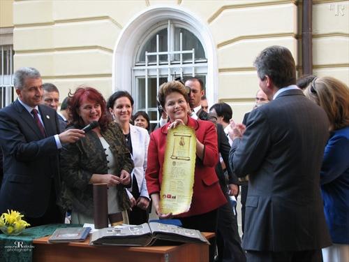 Дилма Русеф в Габрово