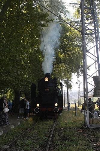 Парен локомотив в Габрово
