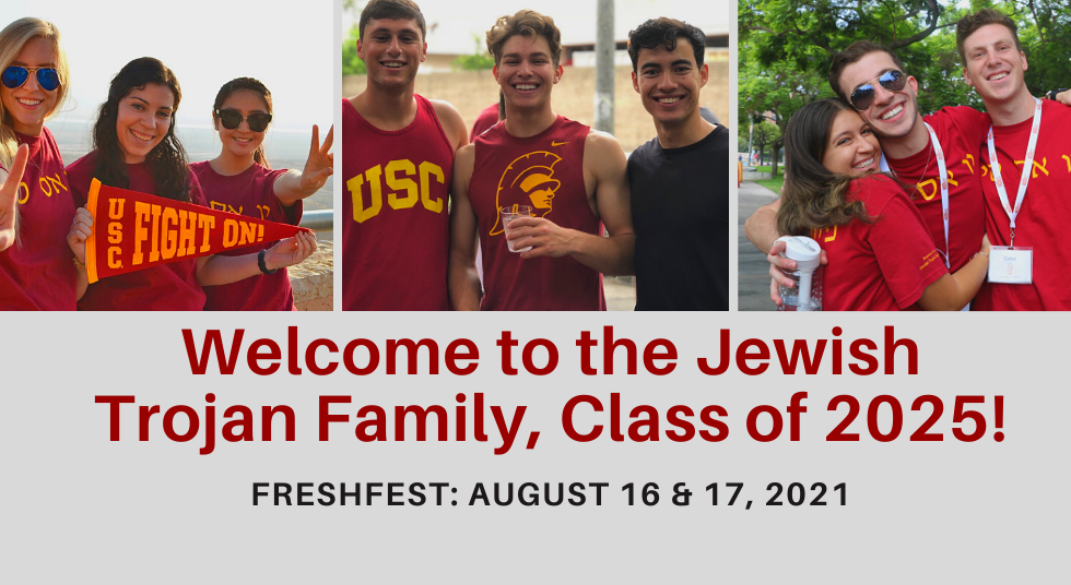 Welcome to the Jewish Trojan Family, Cla