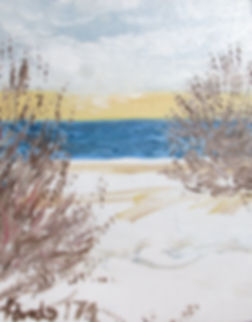 0118 Lake Ontario Winter oil on canvasbo