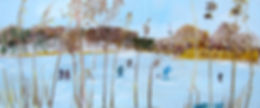 Bicentenary On the Pond, oil on panel, 2
