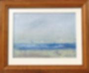 Marilyn Bell Landing framed.JPG