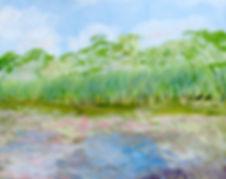 3218 Ducks on a Nest, In the Marsh macro