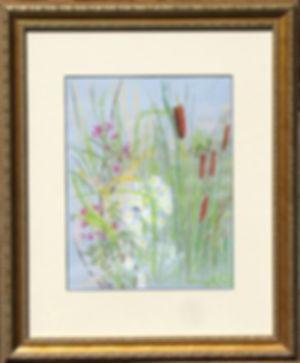 Cattails, framed.jpg