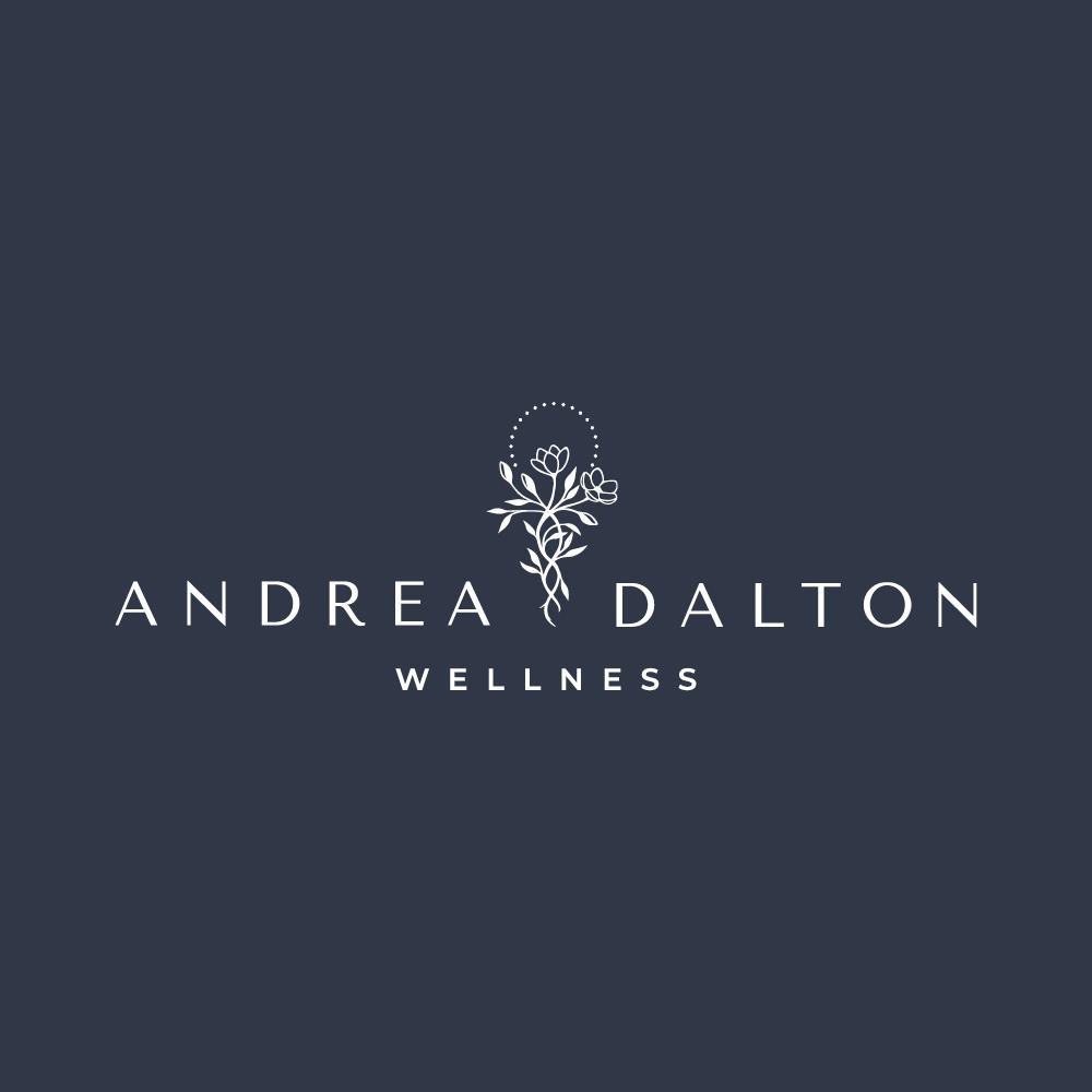 Logo design for Andrea Dalton Wellness - hand drawn logo design