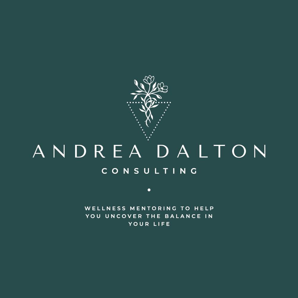 Logo design Andrea Dalton Consulting - logo and brand design by Lemon & Birch