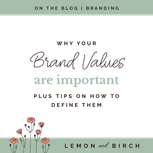 How to define brand values