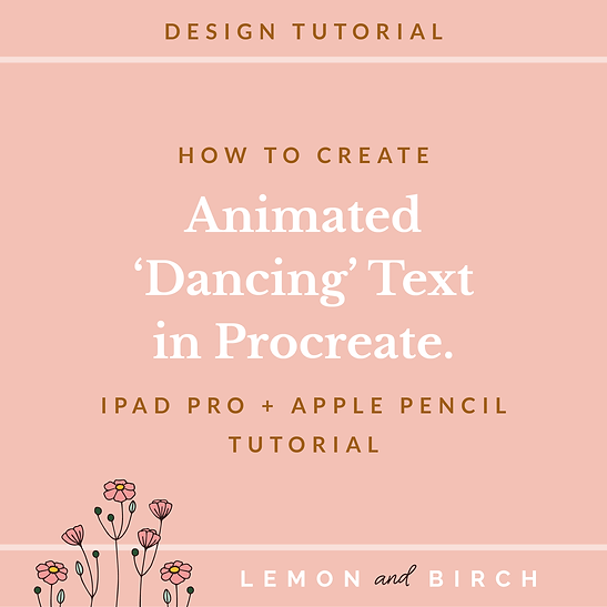 How to create animated dancing text in p