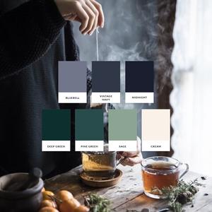 Colour Palette for Andrea Dalton Wellness - logo and brand design by Lemon & Birch