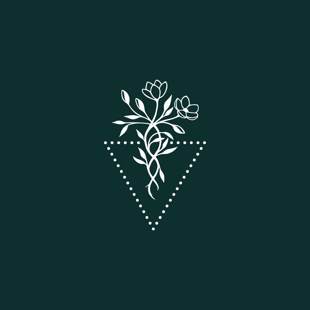 Hand drawn logo design for Andrea Dalton Consulting - logo and brand design by Lemon & Birch