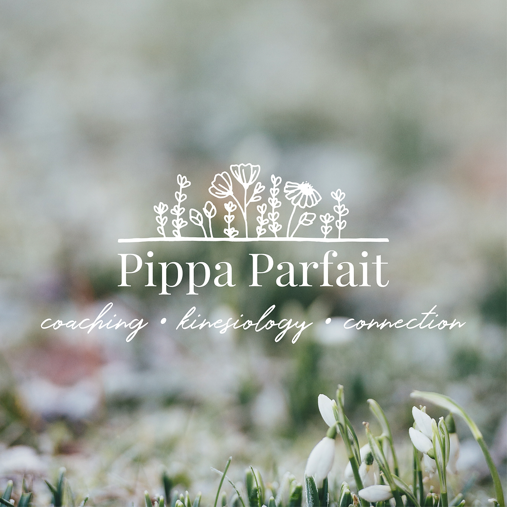 Main logo design for Pippa Parfait | logo and branding design for creative ladies and small businesses