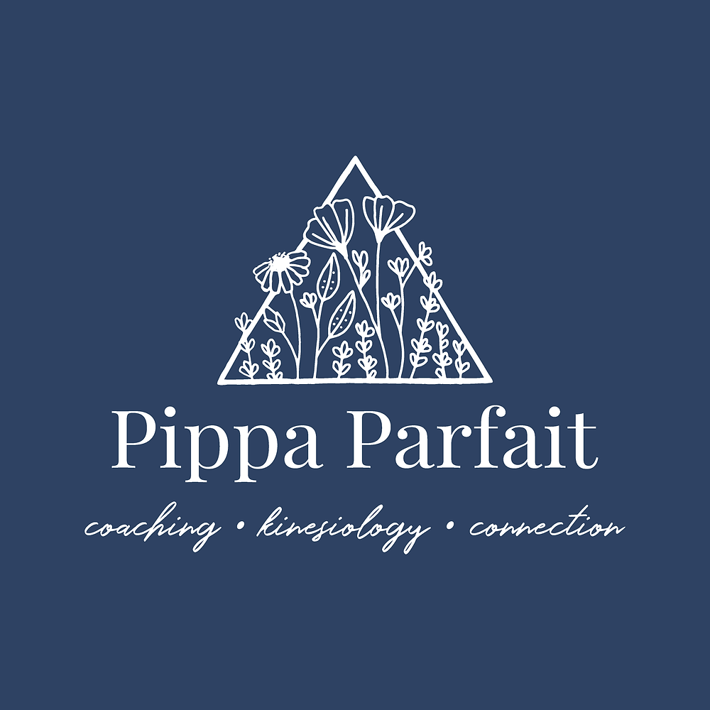 Secondary logo design for Pippa Parfait | logo and branding design for creative ladies and small businesses