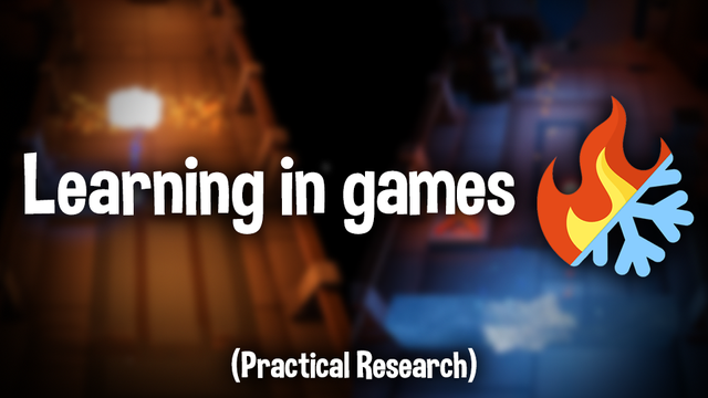 Research on experiential learning put against traditionnal knowledge based learning in the case of game tutorials.