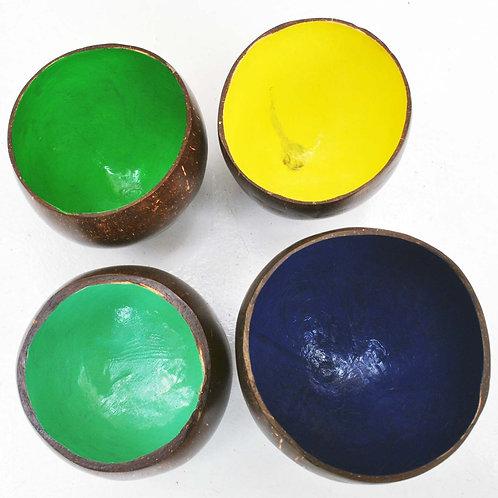 Taças de coco