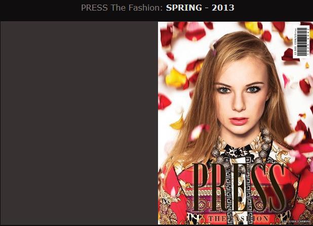 PRESS THE FASHION SPRING 2013