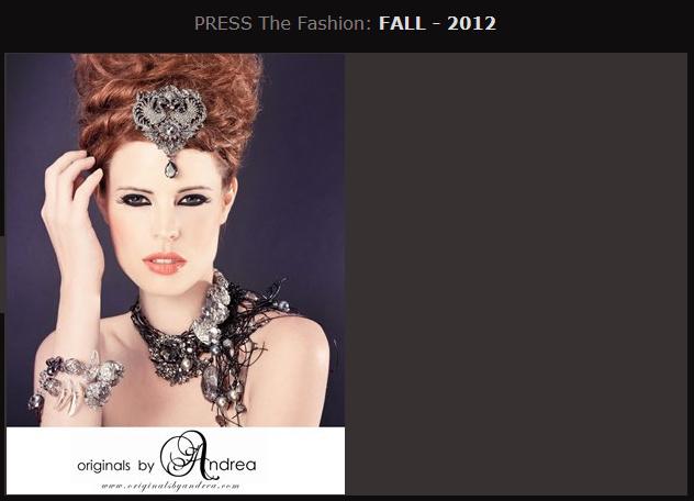 PRESS THE FASHION FALL 2012
