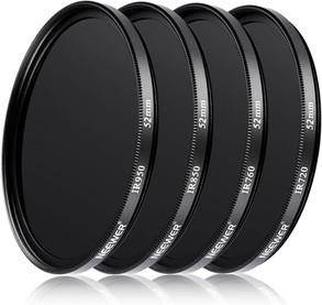 Neewer | Kit filtri infrarossi IR720, IR760, IR760, IR950