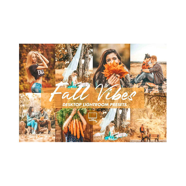 Fall Vibes Presettaggi per Lightroom