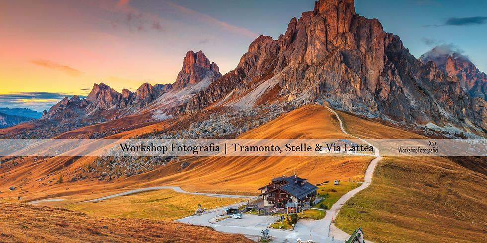 Passo Giau - PRE_VENDITA Tramonto, Stelle & Via Lattea