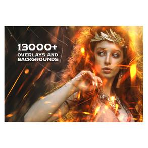 13000+ Sfondi, Oggetti & Trame per tutti i software grafici (Adobe, Corel, Affinity, Luminar etc.)